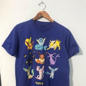 Pokémon Eeveelutions T shirt